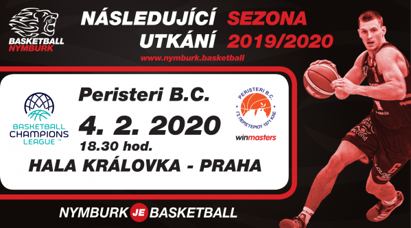 Era Basketball Nymburk - Paristeri Winmasters