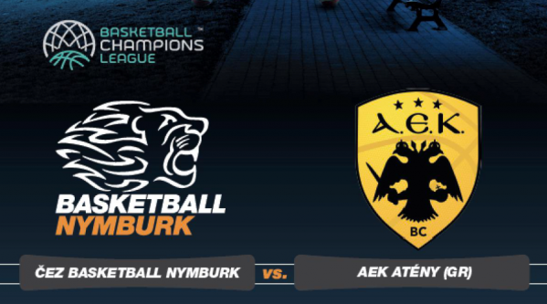 ČEZ BASKETBALL NYMBURK - AEK ATÉNY (GR)