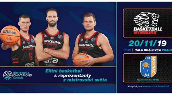 Era Basketball Nymburk - Mornar Bar